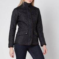 Barbour Womens Cavalry Polarquilt Jacket - Black - UK 10
