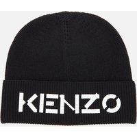 KENZO Men's Wool Beanie - Black