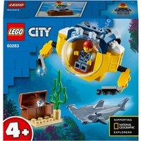LEGO City: 4+ Ocean Mini-Submarine Deep Sea Set (60263)