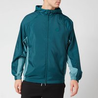 KENZO Men's Packable Windbreaker Jacket - Duck Blue - M