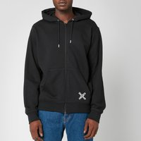 KENZO Men's Sport Full Zip Hooded Sweatshirt - Black - M