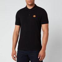 KENZO Men's Tiger Crest Polo Shirt - Black - XXL