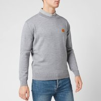 KENZO Men's Tiger Crest Jumper - Dove Grey - M