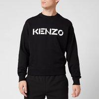 KENZO Men's Logo Classic Sweatshirt - Black - S