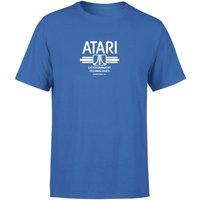 Atari Blue Tee Mens T-Shirt - Royal Blue - XS - royal blue