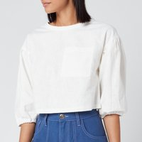 L.F Markey Women's Fabian Top - Off White - UK 12