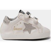 Golden Goose Deluxe Brand Babies' School Nappa Trainers - White/Ice - UK 1 Infant