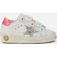 Golden Goose Deluxe Brand Toddlers' Old School Trainers - White/Silver/Fuchsia - UK 8 Toddler