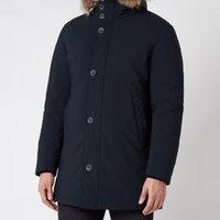 Herno Men's Fur Hooded Parka - Navy - 48/M