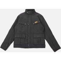 Barbour International Boys Ariel Polar Quilt Jacket - Black - XL (12-13 Years)