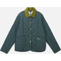 Barbour Heritage Girls Liddesdale Quilt Jacket - Isle Green/Opal - S (6-7) Years