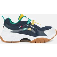 Tommy Jeans Men's Heritage Chunky Running Style Trainers - Twilight Navy - UK 7