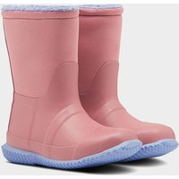 Hunter Toddlers' Sherpa Boots - Hibiscus Pink/Puplit Purple - UK 4 Toddler