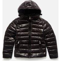 Pyrenex Girls' Spoutnic Shiny Jacket - Black - 10 Years