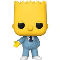 The Simpsons Mafia Bart Pop! Vinyl Figure