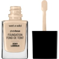 wet n wild Photo Focus Dewy Foundation (Various Shades) - Nude Ivory