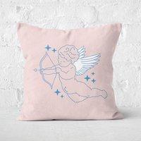 Demi Donnelly Cherub Square Cushion - 50x50cm - Soft Touch