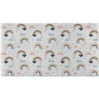 Hand Towels Rainbow And Cloud Pattern Hand Towel