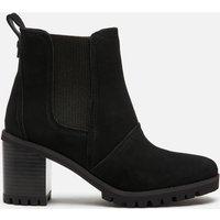 UGG Women's Hazel Waterproof Leather Heeled Chelsea Boots - Black - UK 3
