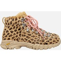 Diemme Women's Maser Haircalf Hiking Style Boots - Leopard - UK 3/EU 35