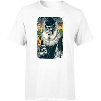Ikiiki Lady Mens T-Shirt - White - XXL - White