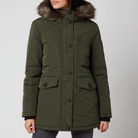 Superdry Women's Everest Parka - Army Khaki - UK 14