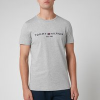Tommy Hilfiger Men's Tommy Logo T-Shirt - Cloud Heather - XL