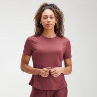 MP Women's Velocity Short Sleeve Top- Claret - XS