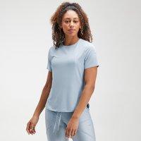 MP Women's Velocity Short Sleeve Top- Light Blue - XL