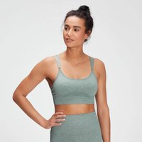 MP Women's Raw Training Seamless Bra - Washed Green - XL