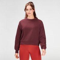 MP Women's Composure Sweatshirt- Washed Oxblood - S