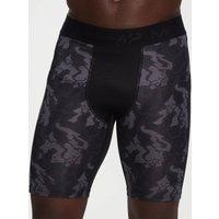 MP Men's Adapt Camo Base Layer Shorts -Black Camo - L