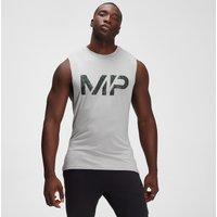 MP Men's Adapt drirelease(r) Camo Print Tank - Storm Grey Marl - L
