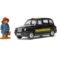 Paddington Bear London Taxi and Paddington Bear Figure Model Set - Scale 1:36