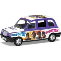 The Beatles London Taxi Hey Jude Model Set - Scale 1:36