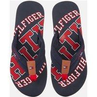 Tommy Hilfiger Men's Simon Essential Beach Toe Post Sandals - Midnight - UK 8