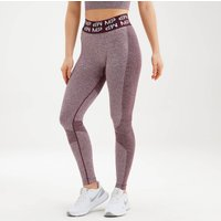 MP Womens Curve Leggings - Washed Oxblood - S