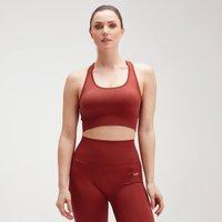 MP Women's Shape Seamless Ultra Cross Strap Sports Bra - Burnt Red - XXL