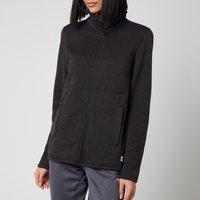 The North Face Women's Crescent Full Zip Fleece - TNF Black - XS