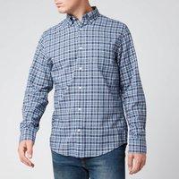 Gant Mens Tartan Shirt - Pacific Blue - L