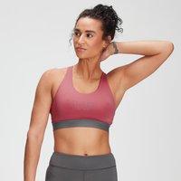MP Women's Branded Training Sports Bra - Berry Pink - XL