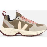 Veja Women's Venturi Suede Running Style Trainers - Khaki/Sable/Oxford Grey - UK 7