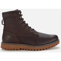 Timberland Men's Jackson's Landing Waterproof Boots - Dark Brown - UK 8