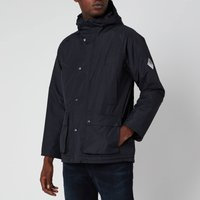 Barbour Beacon Mens Hooded Bedale Jacket - Navy - M