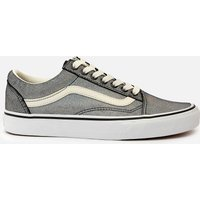 Vans Women's Prism Suede Old Skool Trainers - Black/White - UK 4
