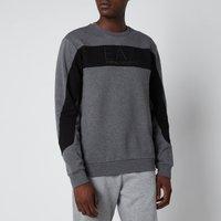 Emporio Armani EA7 Men's Centre Logo Sweatshirt - Black - XXL