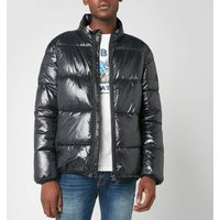 Barbour International Mens Act Quilt Jacket - Black - XL