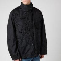 Barbour International Mens Motor Shirt Jacket - Black - L