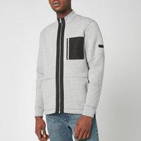 Barbour International Men's Ratio Zip Thru Jacket - Grey Marl - L