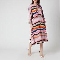 PS Paul Smith Women's Printed Stripe Dress - Multi - IT 42/UK 10